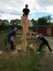 funkcionali skulptūra jaunimo būreliui Estijoje